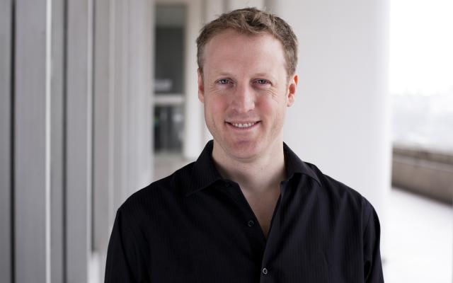 Philharmonia player Michael Fuller