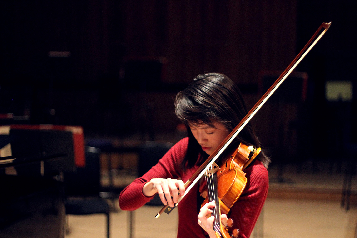 Photo of a member of the Philharmonia MMSF Instrumental Fellowship Programme, Julia Liang