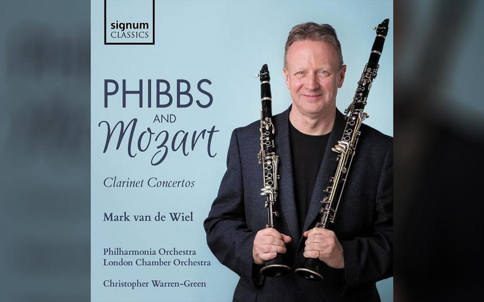 Phibbs and Mozart CD cover