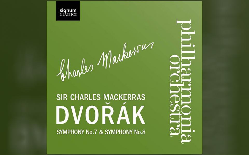 Dvořák Symphony No. 7 & Symphony No. 8 CD cover