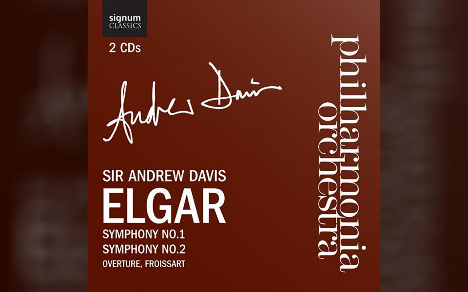 Elgar Symphonies No. 1 & 2 CD cover