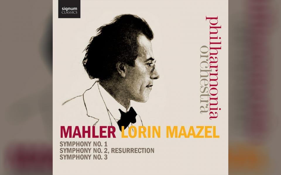 Mahler Symphonies No. 1, 2 & 3 CD cover