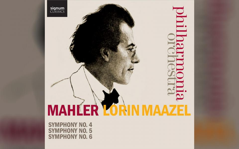 Mahler Symphonies Nos. 4, 5 & 6 CD cover