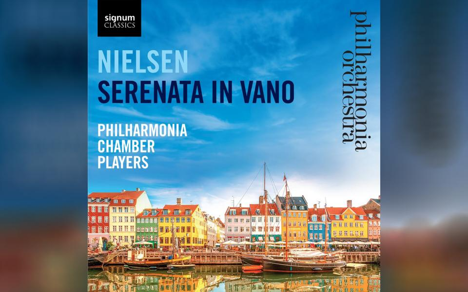 Nielsen: Serenata In Vano CD cover