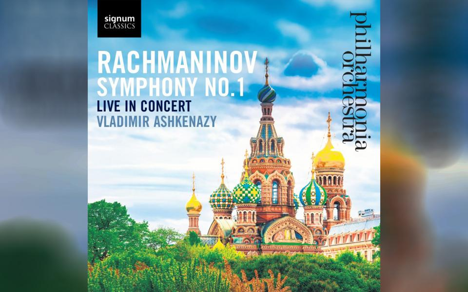 Rachmaninov: Symphony No. 1 CD cover