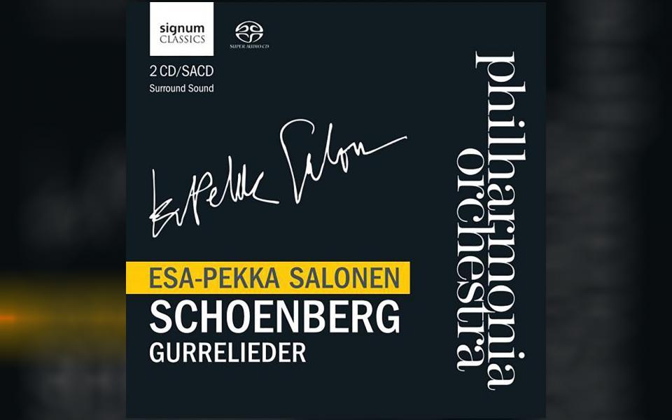 Schoenberg: Gurrelieder CD cover
