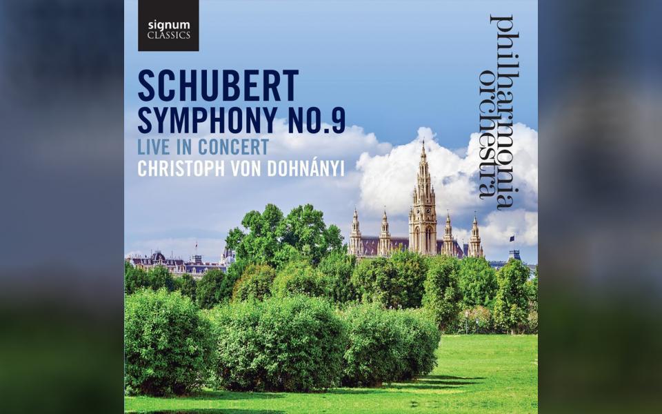 Schubert Symphony No. 9 CD cover