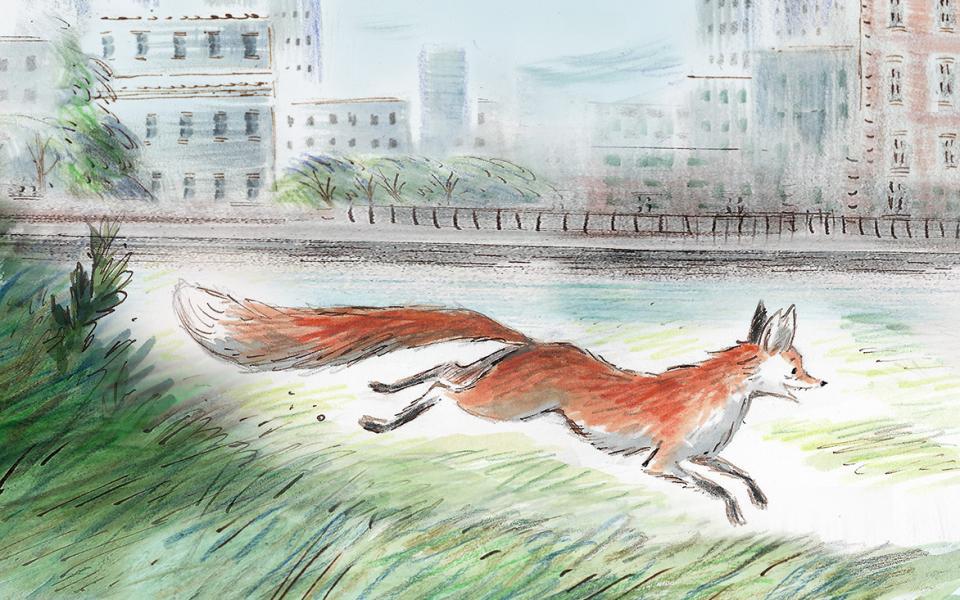 Gaspard's Foxtrot illustration