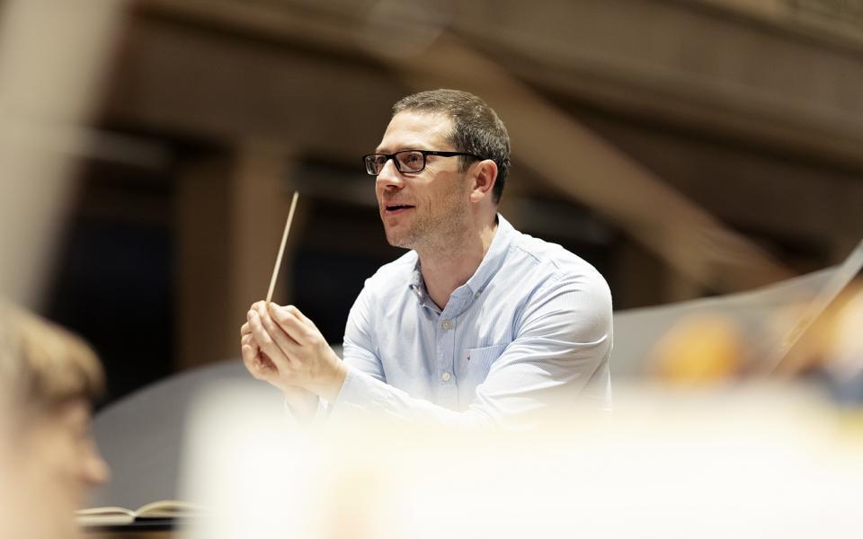 Photo of conductor John Wilson