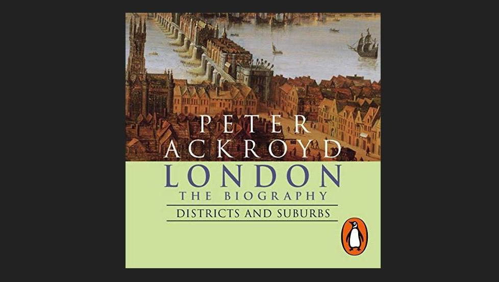 Cover of London, the Biography, by Peter Ackroyd