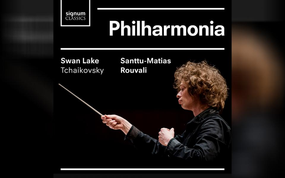 Album cover for Tchaikovsky's Swan Lake conducted by Santtu-Matias Rouvali